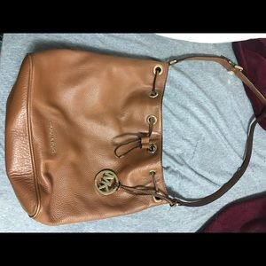 Michael Kors drawstring bucket bag
